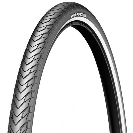Copertone Michelin Protek rigido 26'' 37-590 (650x35A) nero riflettente