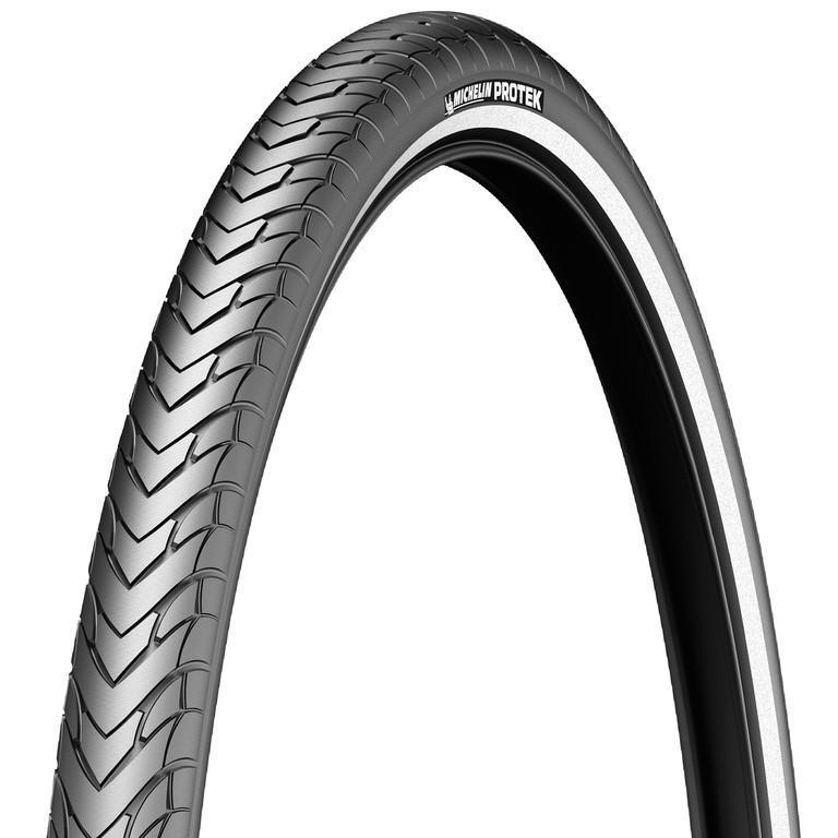 Copertone Michelin Protek rigido 28'' 700x40C 47-622 nero riflettente