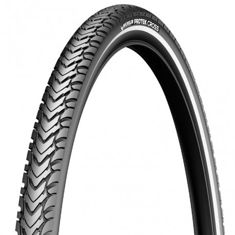 Cop. Michelin Protek Cross rigido 28'' 700x47C 47-622 nero riflettente