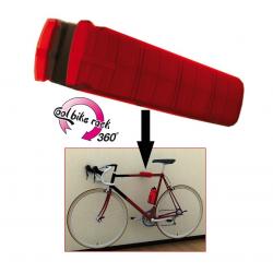 Portabici bianco da parete Peruzzo Cool Bike Rack 360°, per 1 bici fino a 17 kg
