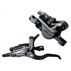 Freno a disco Shimano M 4050 idraulico RA,nero,sx,con ST-M4050, 1000mm