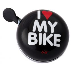 Ding Dong Bell I Love My Bike Black