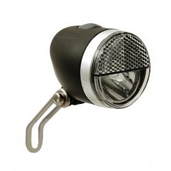 Fanale LED Secu Sport S con supporto, 40 Lux, per mozzi a dinamo
