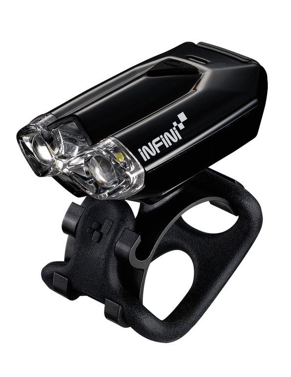 Minibeamer anteriore Infini I-260, colore nero, con presa USB