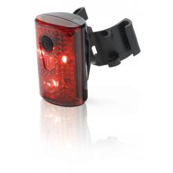 XLC Luce posteriore CL-R14 con omologazione codice stradale tedesco e collegamento USB