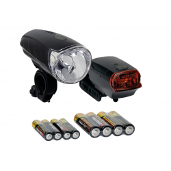 Set di luci a batteria Sunset Nero, batterie incluse