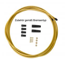 XLC Cavo freno a discoHayes 3000 mm, color oro