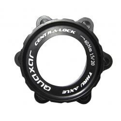 Adattatore Centerlock anello incl, per 15/20 mm, nero