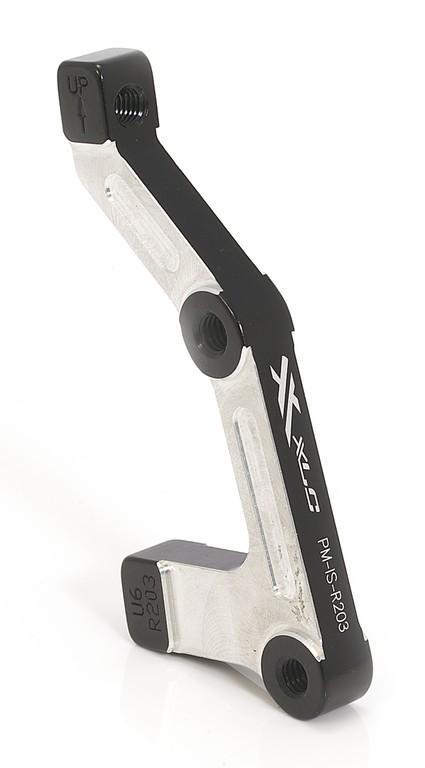 Adattatore freno a disco XLC,per freni PM IS-RP Ø203 mm BR-X26