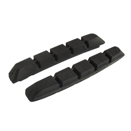 Coppia Pattini di ricambio Shimano M70R2 per V-Brake BR-M 970/739, ceramica