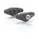 XLC pattini freno Road BS-R01, set 4 pezzi, 50 mm, colore nero