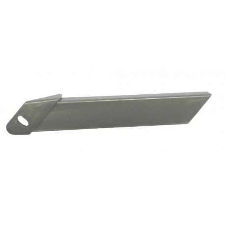 Adattatore lunghezza carter Horn per Catena 02 e 04, argento