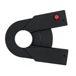 Parte posteriore carter Hebie Chainglider per Rohloff, 15-17 denti, nero
