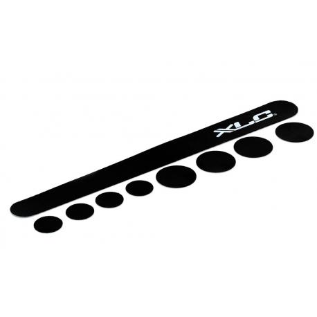 XLC set batticatena CP-C01 Carbonio, nero