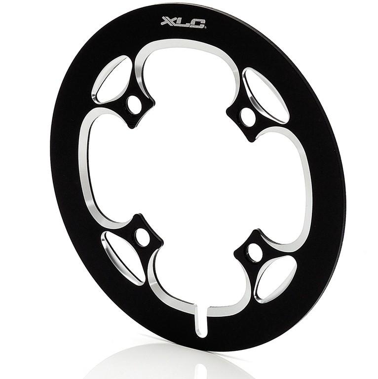 XLC Chainguard nero/argento, per 38 denti