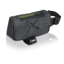 XLC borsa per tubo orizzontale BA-S60 Nera/antracite, 15x4,5x7,5cm, 0,4 litri