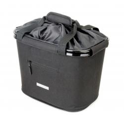 Borsa-cestin.manub.BlueBird,supp.sg.rap. Nero 35.9x26.4x27.3 cm 20 litri