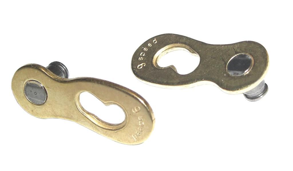 Fermaglio catena Connex Link p. catene Connex 10v. oro
