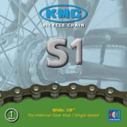catena KMC Z410 imballaggio p. montaggio 1/2 x 1/8 112 anelli, senza fermaglio