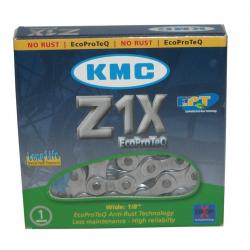 Catena KMC Z1X EPT EcoProteQ Antiruggine 1/2 x 1/8, 112 anelli, 8,6mm, LongLife