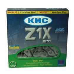 catena KMC S 10 1/2 x 1/8 112anelli 9,4mm Inox(inossid.)
