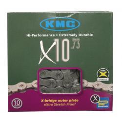 Catena d.cambio KMC X-10 grigio-grigio 116 anelli 5,9 mm 10v.