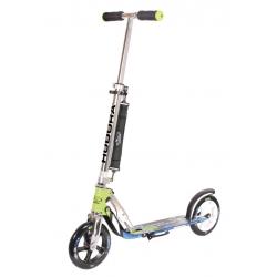 "City Scooter Big Wheel Hudora Alu 8"" 205 verde/blu 205mm"