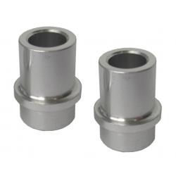 Coppia boccole ammortizz. SR allu.12,7mm foro 8 mm per struttura 30 mm