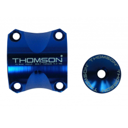 Morsetto manubrio Kit Thomson Elite X4 MTB 31,8 blu