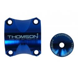 Morsetto manubrio Kit Thomson Elite X4 MTB 31,8 blu