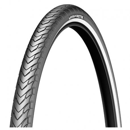 """Copertone Michelin Protek Max Draht 28"""" 700x32C 32-622 nero riflett."""