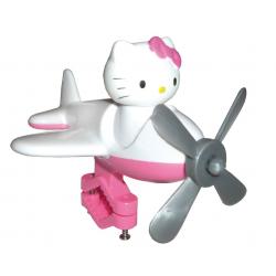 Hello Kitty per manubrio bianco/rosa fucsia con motivo