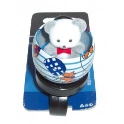 Campanello bambini Orso (blister, su cartolina XLC)