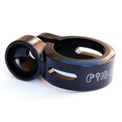 Collare per Pinhead, per tubo reggisella nero Ø 34,9 mm