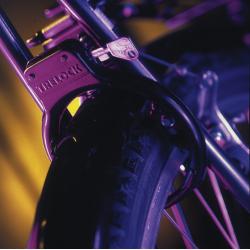 serratura per telaio, nero Trelock RS 54 MH