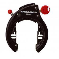 serratura per telaio,p.placca Plet. Trelock RS 306 AZ P40, nero