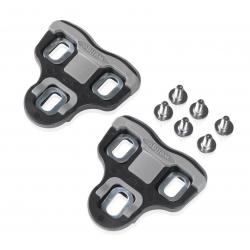XLC Set di tacchette PD-X05 Compatibili con XLC Pedali Look, 0°, neri