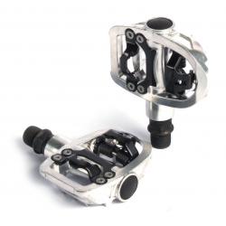 XLC pedale Road System PD-S07 unilaterale, colore argento SB Plus