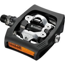 Pedali SPD Trekking PD-T 400 Shimano nero unilaterale
