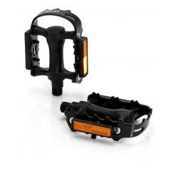 pedale XLC,PD-M01gabbia acciaio corpo di plastica nero, SB Plus