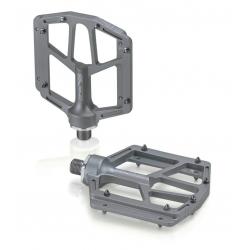 XLC pedali MTB/ATB PD-M14 Alluminio, color titanio, 320g