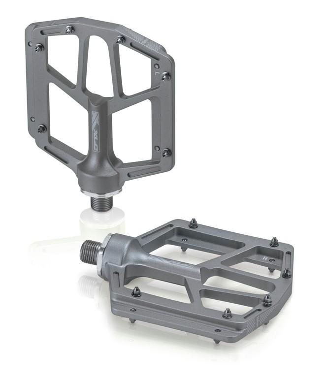 xlc pedali  XLC pedali MTB/ATB PD-M14 Alluminio, color titanio, 320g