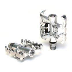Pedale XLC MTB/Trekking-System PD-S10 unilaterale, argento