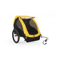 Burley Bee carrello bimbi modello 2016, giallo (solo rimorchio)