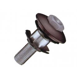 """Ttappo e ragnetto A-Head per BMX 1 1/8""""con passaggio del cavo freno interno"""