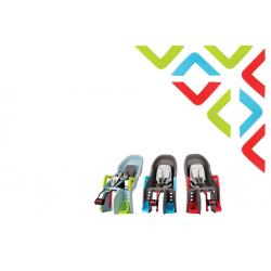 Kit conversione Polisport Guppy Mini Braccioli, poggiapiedi colore azzurro