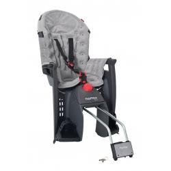 Seggiolino bambini Hamax Siesta Premium grigio/grigio chiaro, fissaggio al telaio