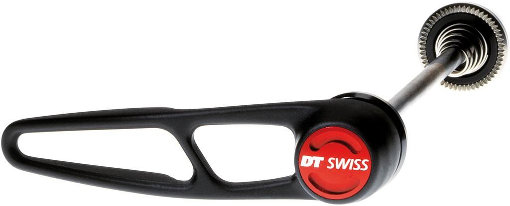 QR RA DT Swiss RWS BTT QR in acciaio,100mm con leva in alluminio