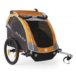 Burley D`Lite carrello bimbi modello 2016, arancio