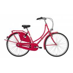 "Bici Olandese 26"" Excelsior Classic ND 3V Shimano Nexus contropedale, Hibiscus Red"